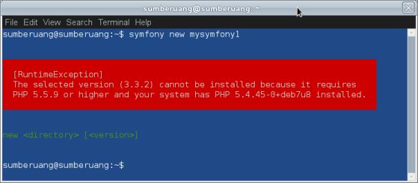 symfony-framework-02-php-version